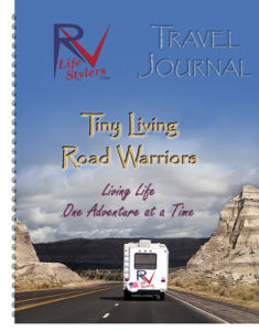 RV Lifestylers Travel Journal Spiral