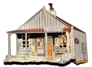 Luckenbach, Texas Ornament