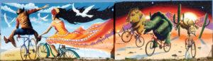 Tucson bicycle mural